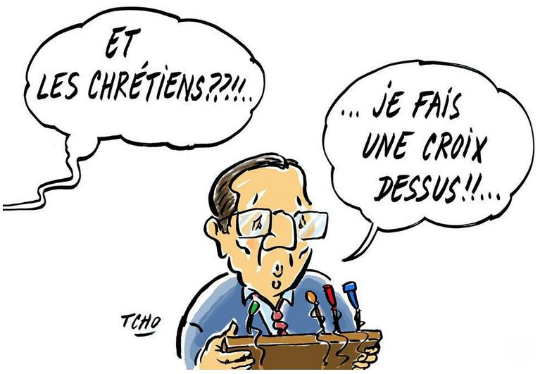 Profanations de cimetières - Hollande fait une croix dessus
