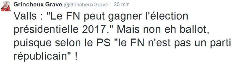 TWEET-Valls-Le FN peut gagner en 2017-08.03.2015