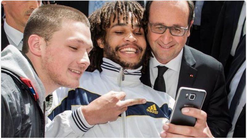 Selfie Hollande en Suisse à Berne - avril 2015