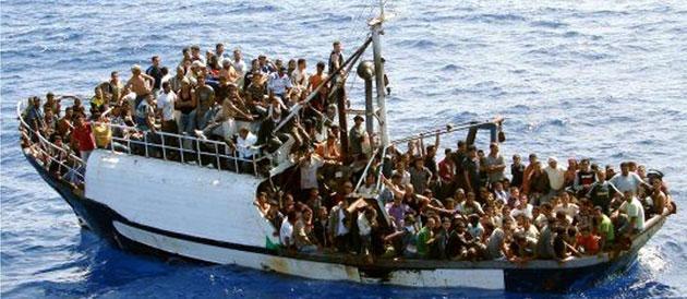 Migrants en Méditerranée - avril 2015