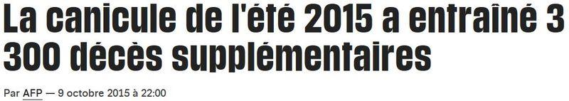 Canicule 2015-titre Libération