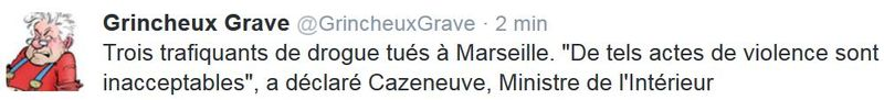 TWEET GG- 3 trafiquants de drogue tués à Marseille-25.10.2015