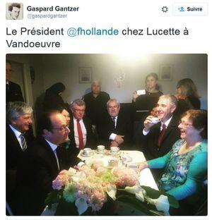 TWEET-Gaspard Gantzer-Hollande chez Lucette-oct 2015