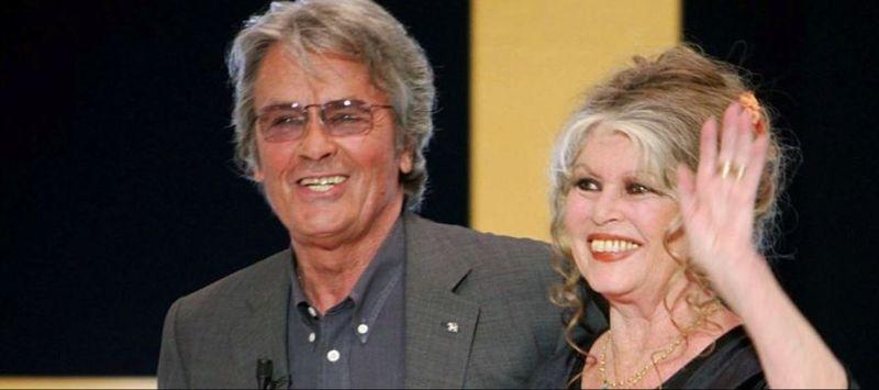 Delon et Bardot en 2003