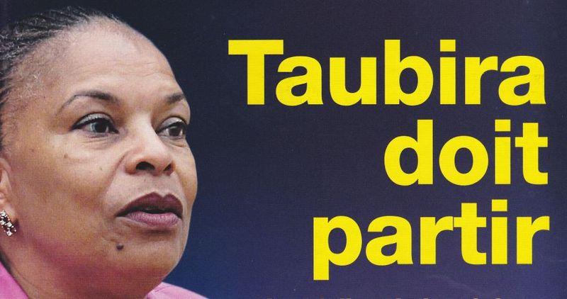 Taubira doit partir-Valeurs actuelles 15.10.2015