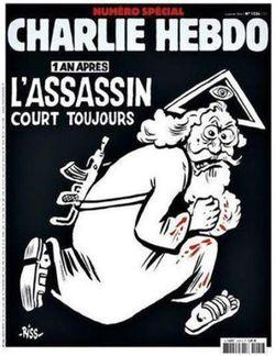 Charlie Hebdo - Une pour un an après-06.01.2016