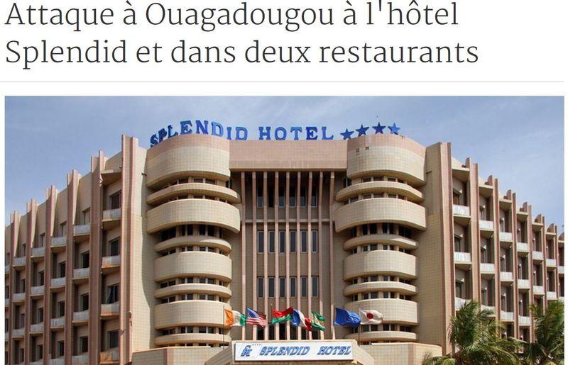 Ouagadougou-hôtel Splendid