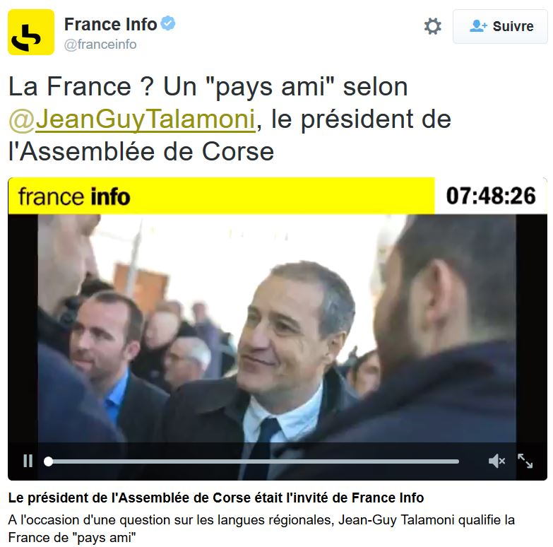 Talamoni- la France est un pays ami-18.01.2016