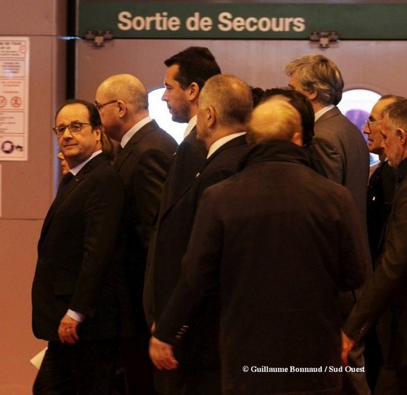 Hollande vers la sortie de secours-salon agriculture 2016