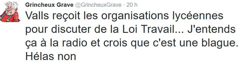 TWEET GG-Valls reçoit les organisations lycéennes-10.03.2016