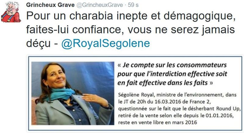 TWEET GG-Royal et le Round Up-16.03.2016