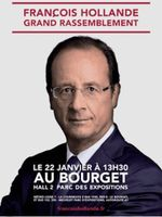 Hollande-Le Bourget-22.01.2012