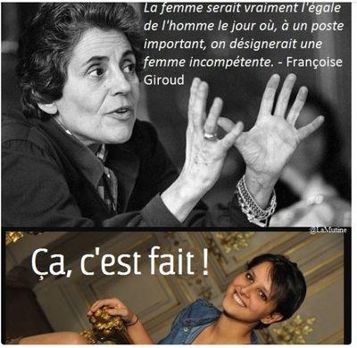 Françoise Giroud-Egalité homme-femme