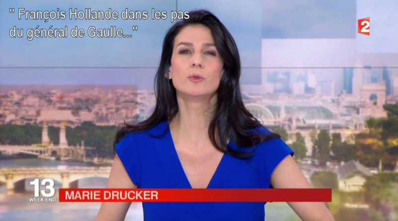 Marie Drucker-JT 13H de France 2-19.06.2016