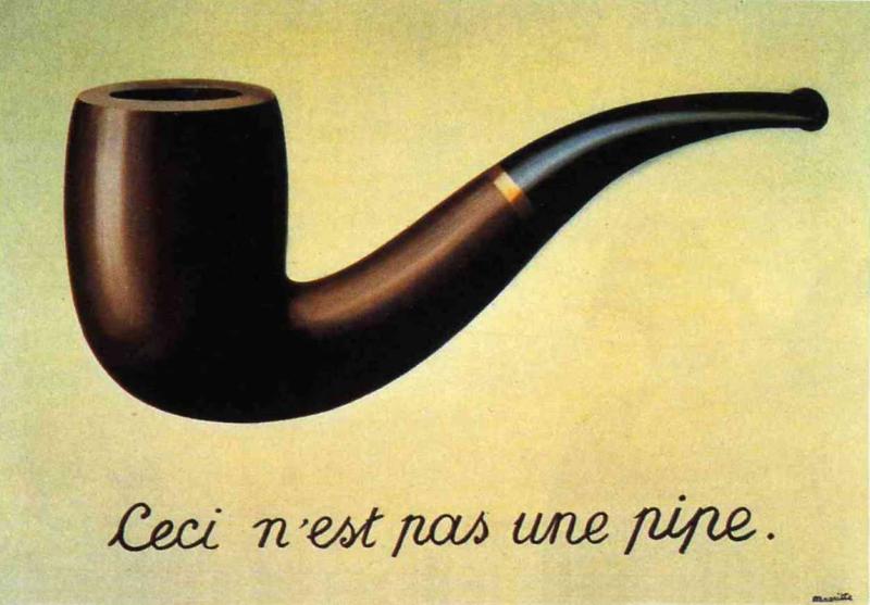 Magritte-Ceci n'est pas une pipe