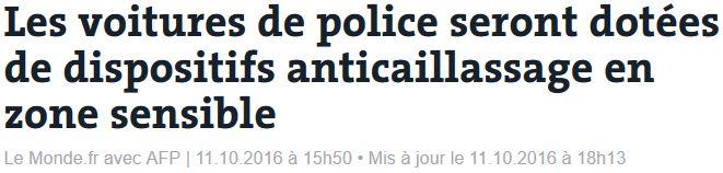 Voitures de police anti-callaissage-11.10.2016