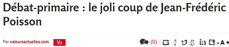 Valeurs actuelles-le joli coup de JF Poisson-14.10.2016JPG