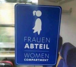 Frauen Abteil