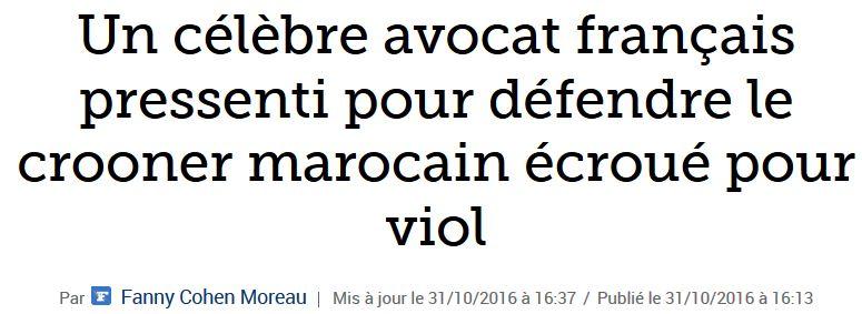Un crooner marocain défendu par Me Dupont-Moretti-JPG