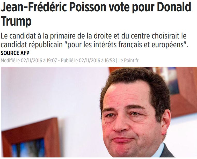 JF Poisson voterait pour Trump-JPG