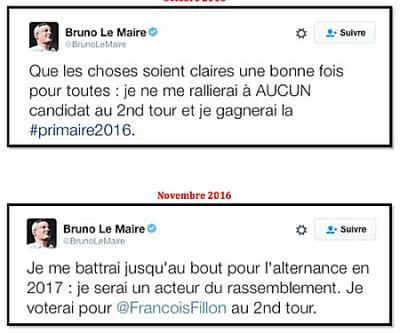 LE MAIRE-tweets oct et nov 2016