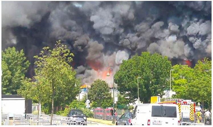 Incendie volontaire par des migrants à Düsseldorf