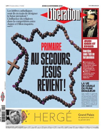 Libération-une 24.11.2016