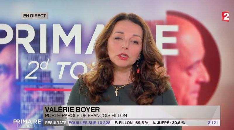 Valérie Boyer porte sa croix