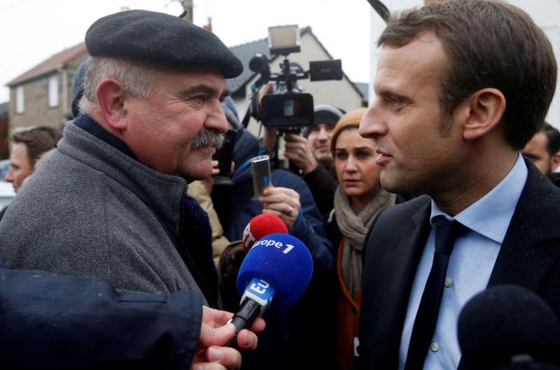 Macron à Noeux-les-Mines-13.01.2017