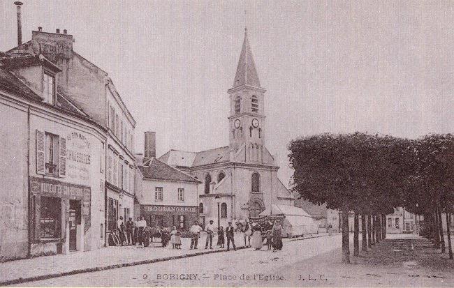 Bobigny centre en 1910