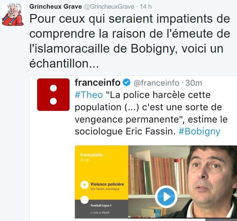 TWEET GG-sociologue islamoracaille Bobigny-12.02.2017