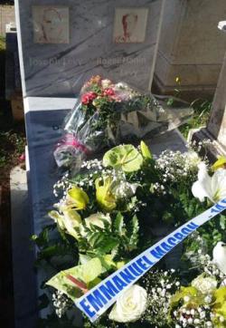 Roger Hanin-sa tombe à Alger-février 2017