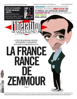 Libération-une-Zemmour