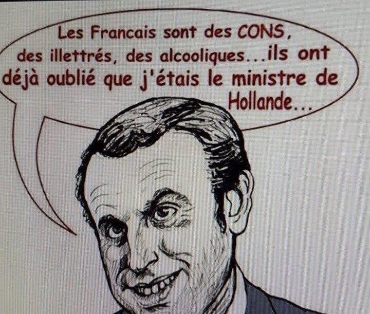 Macron-les Français sont des cons-24.04.2017