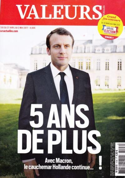 Valeurs actuelles-Macron 5 ans-exclamation