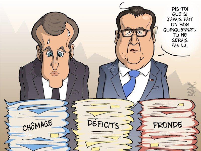 Hollande à Macron-si j'avais fait un bon qinquennat-14.05.2017