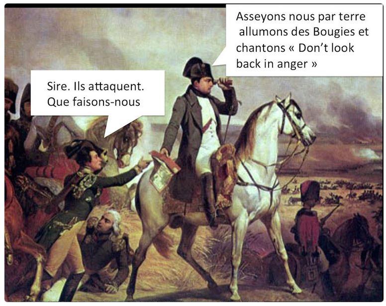 Napoléon après l'attentat de Manchester-mai 2017