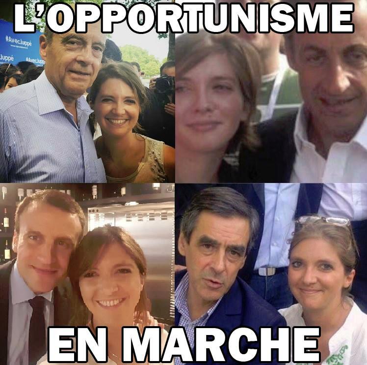 Aurore Bergé-L'opportunisme en marche