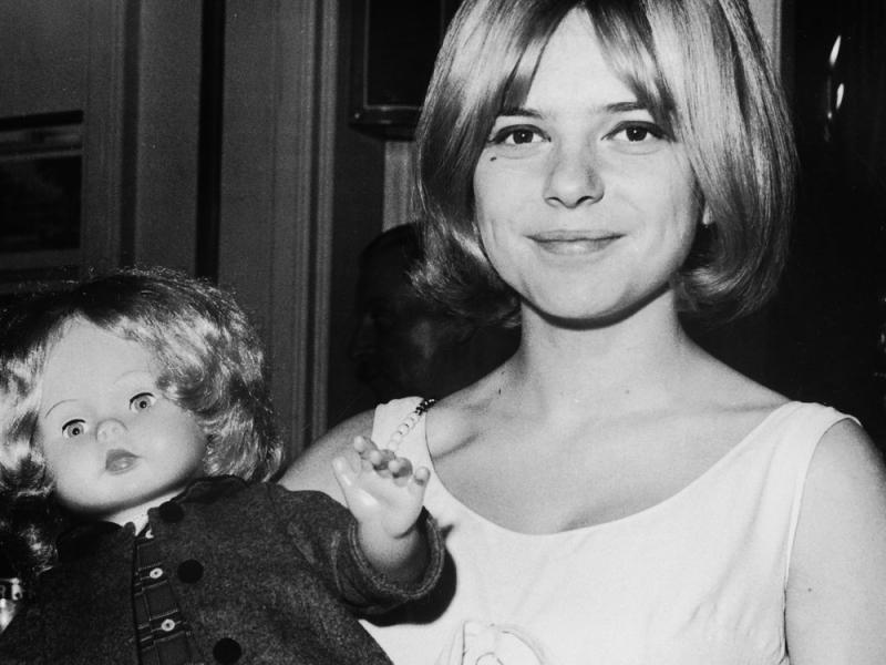 France Gall  et sa poupée
