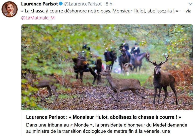 Laurence Parisot-chasse à courre-11.11.2017