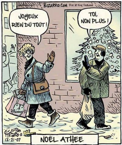 Noël athée