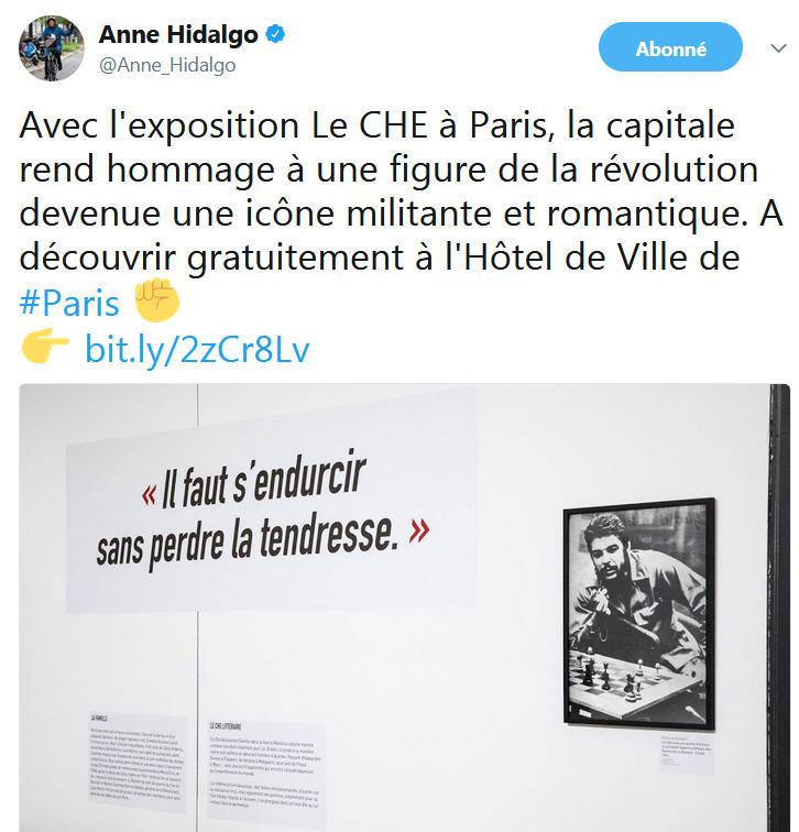 Anne Hidalgo - exposition LE CHE