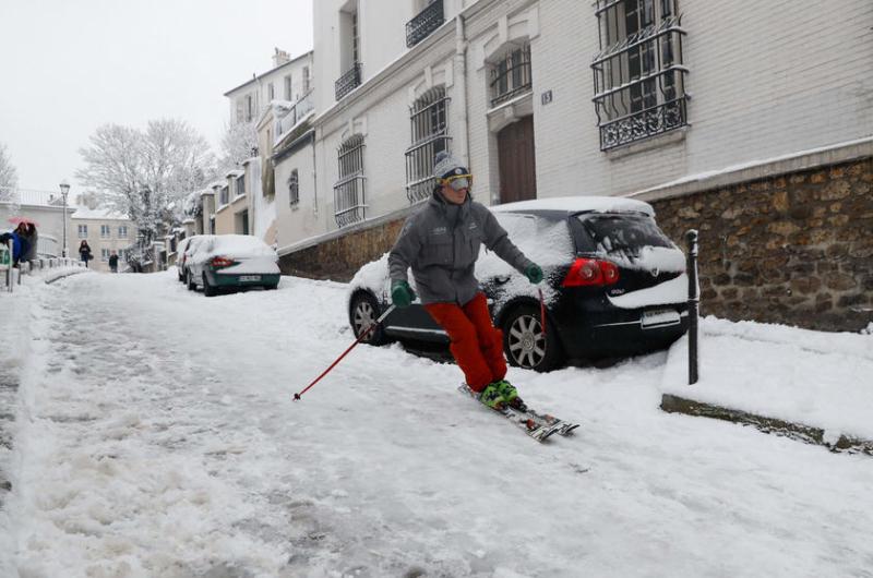 Neige-Paris-Montmartre-février 2018