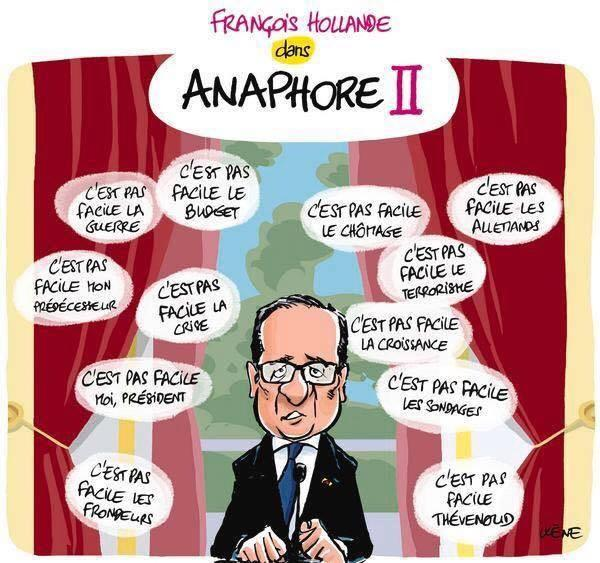 Hollande Anaphore II