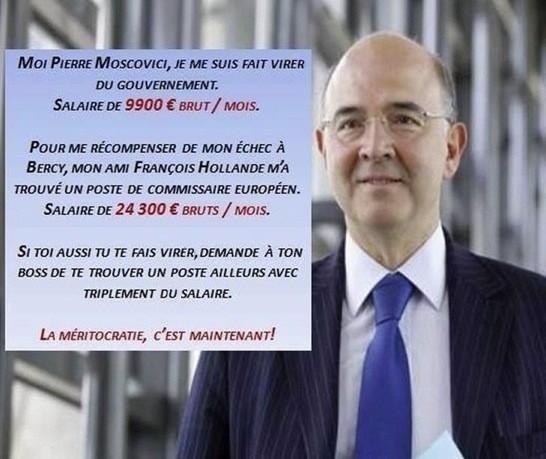 Moscovici viré en chec et récompensé