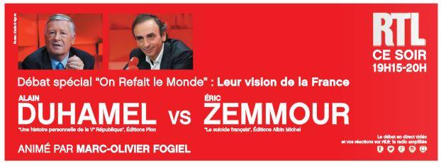 Zemmour - on refait le monde - RTL