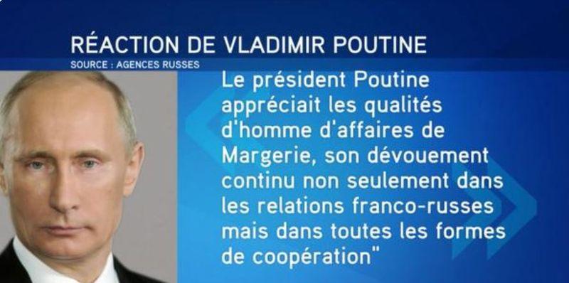 Poutine réaction mort de Margerie