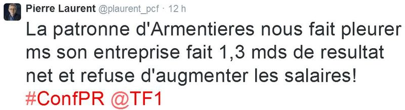 TWEET-Pierre Laurent-PC-06.11.2014