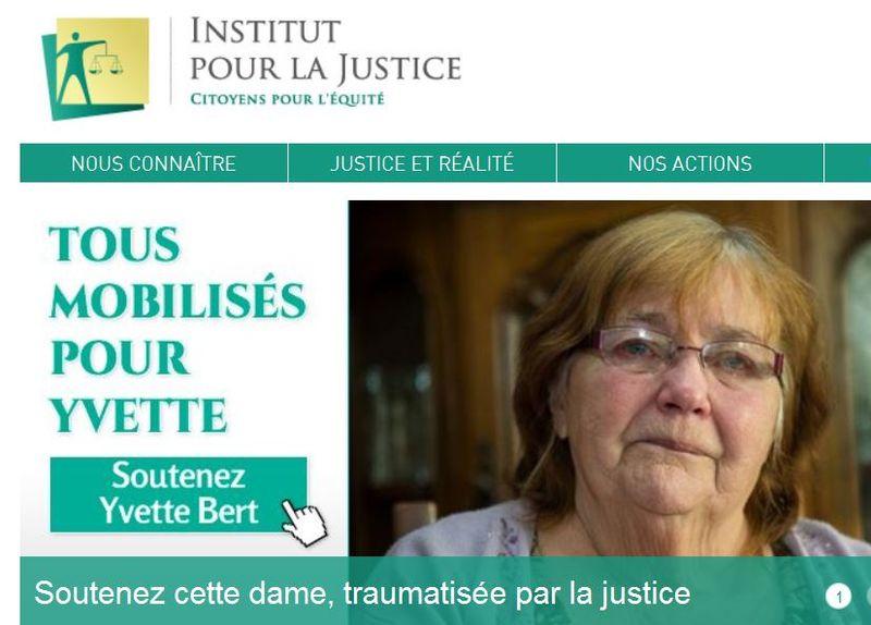 Institut pour la Justice-Yvelle Bert