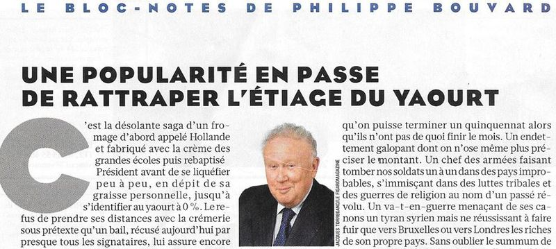 Bloc-notes Philippe Bouvard-Le Fig Mag-14.11.2014